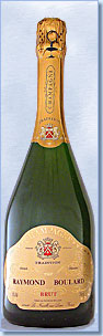 Bouteille champagne prestige tradition