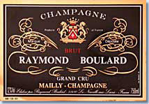 Label Grand cru Mailly-Champagne